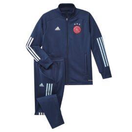 Adidas Ajax Trainingspak Kids Set FI5190 front main full kit
