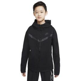 Nike Tech Fleece Hoodie Kids Zwart CU9223-010 front main