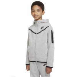 Nike Tech Fleece Vest Kids Grijs CU9223-063 front main