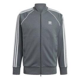 Adidas SST Trainingsjack Grijs-Groen GN3516 front main