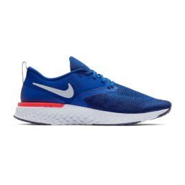 Nike Odyssey React Flyknit 2 Heren Blauw AH1015-400 side main