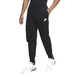 Nike Tech Fleece Broek Zwart CU4499-010 front main