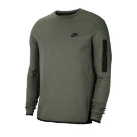 Nike Tech Fleece Trui Groen CU4505-380 front main