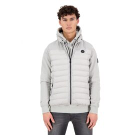 Airforce Padded Bodywarmer Poloma Grey model front main