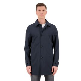 Airforce Trenchcoat Dark Navy FRM0522-552 model front main