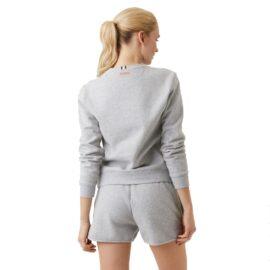 Bjorn Borg Maria Crew Sweater Lichtgrijs 2111-1001 90741 model back