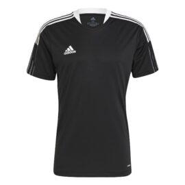 Adidas Tiro 21 Voetbalshirt Zwart GM7586 front main