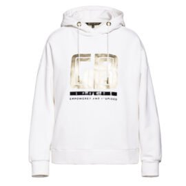 Goldbergh Fiza Hooded Top Wit front main
