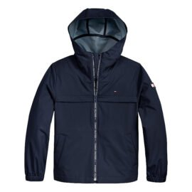 Tommy Hilfiger Coated Jacket Blauw KB0KB06450-C87 main