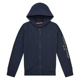 Tommy Hilfiger Essential Hooded Zip Blauw KB0KB06341-C87 main