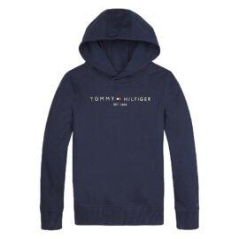 Tommy Hilfiger Essential Hoodie Donkerblauw front main