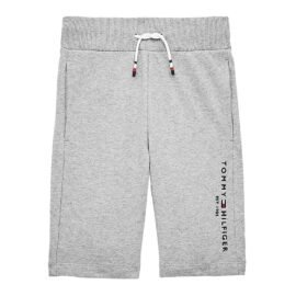 Tommy Hilfiger Essential Sweatshorts Grijs KB0KB05671-P01 front main