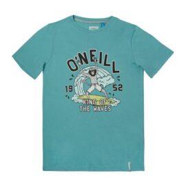 O'Neill King Of Waves T-Shirt Aqua Sea 1A2486-6053 main