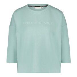 House of Gravity Signature Sweater Lichtgroen main