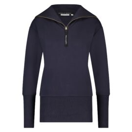 House of Gravity Turtle Neck Sweater Donkerblauw front